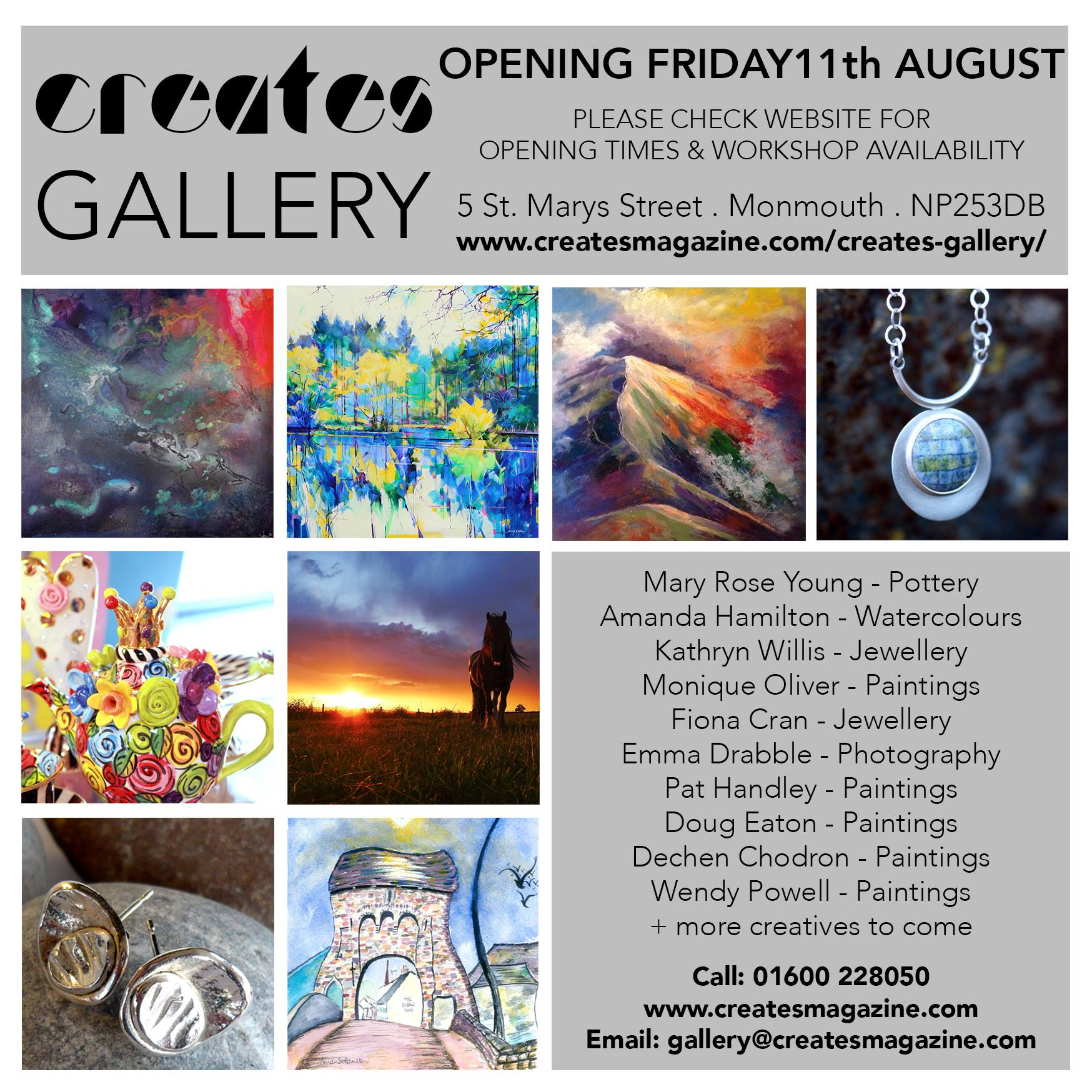 creates gallery monmouth no1