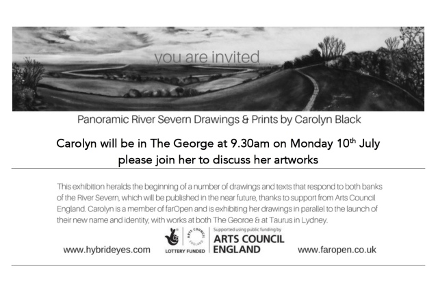 invite to talk at the george
