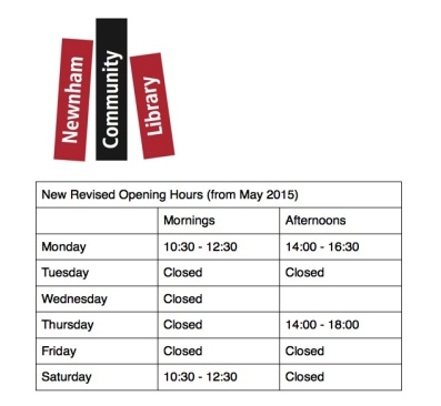 NCL-new-opening-times-2015