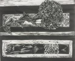 woodcut, A1 (detail)